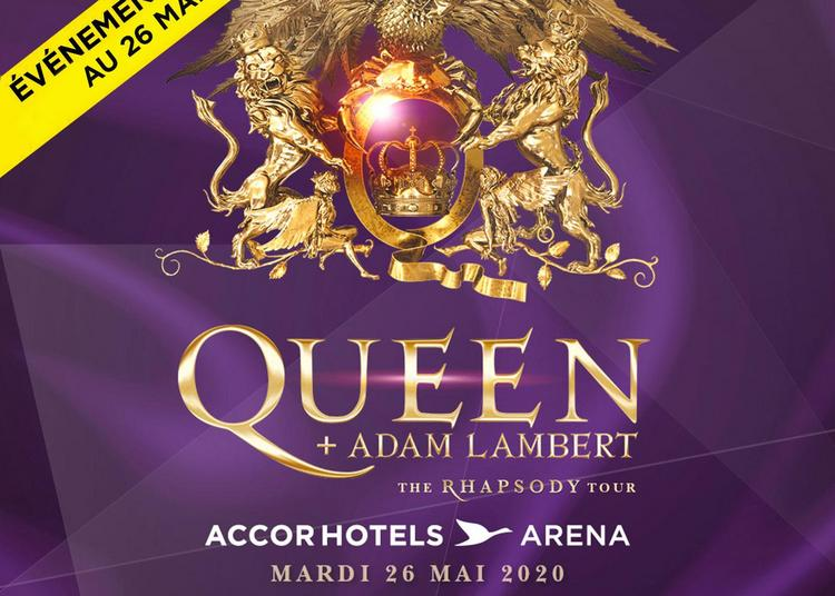 Queen et Adam Lambert - report date mai à Paris 12ème