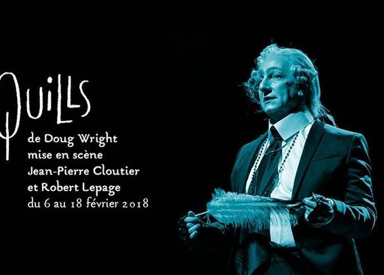 Quills de Doug Wright - Robert Lepage et Jean-Pierre Cloutier à Paris 20ème