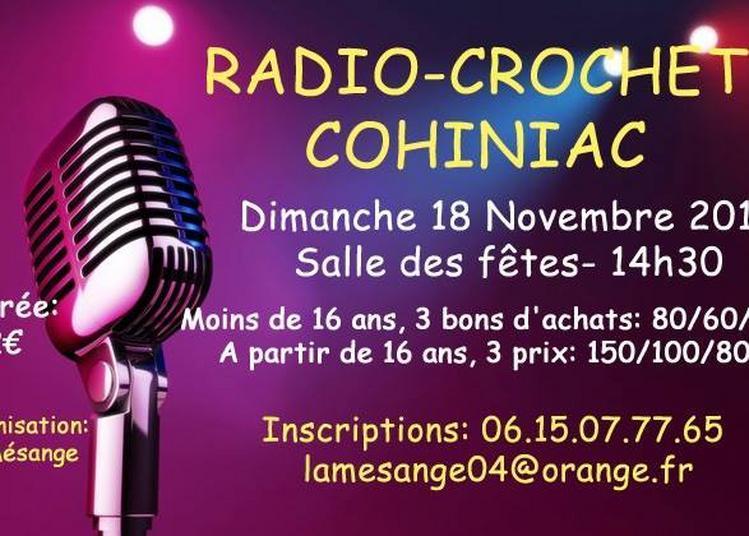 Radio crochet à Cohiniac