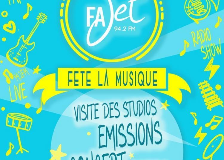 Radio Fajet - Studios Ouverts / Emissions En Public / Concerts à Nancy