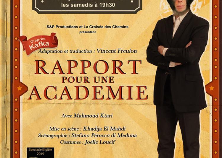 Rapport Pour Une Academie à Paris 15ème