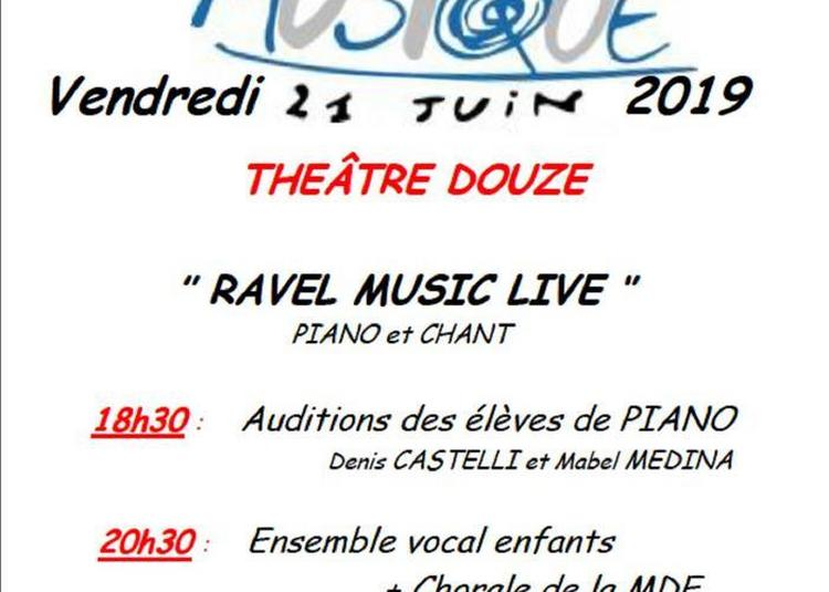 Ravel Music Live 2019 à Paris 12ème