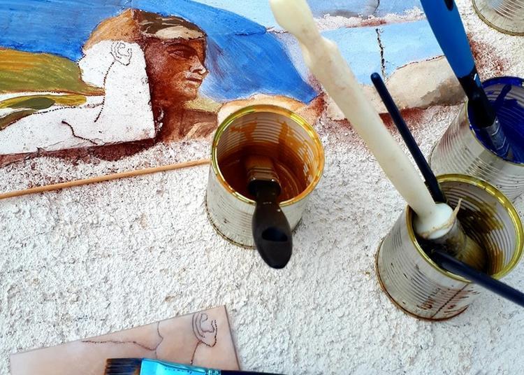 Réalisation Collective D'une Fresque à Antibes