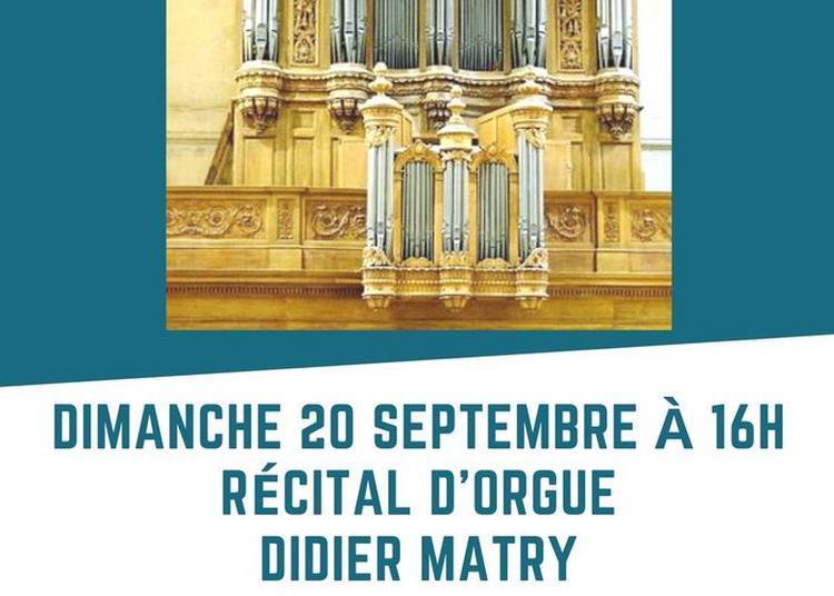Récital D'orgue à Paris 13ème