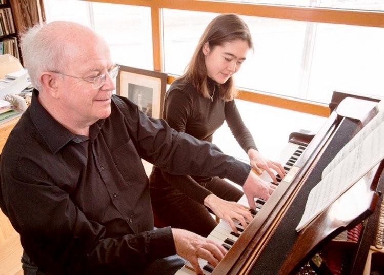 Récital de piano à 4 mains à Paris 8ème