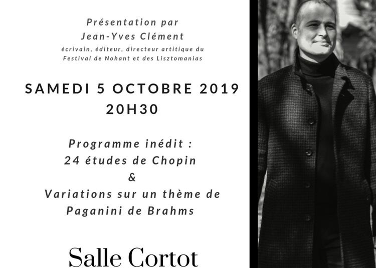 Récital de piano - Chopin - Brahms à Paris 17ème