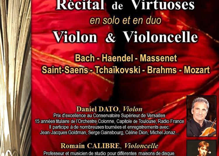 Récital de Virtuoses, Violon & Violoncelle en solo et duo à Paris 5ème