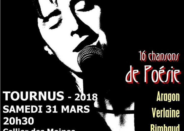 Récital - Hélène Grandsire, Chante Léo Ferre Et Les Poètes à Tournus