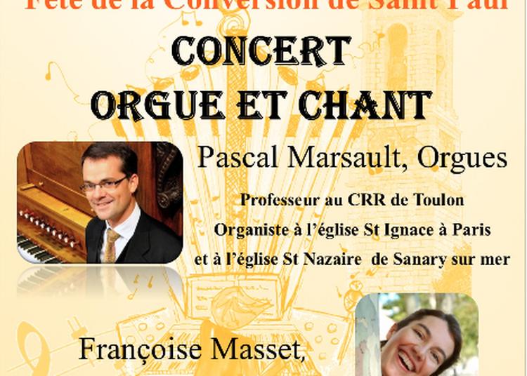 Récital Orgueet Chant à Nice