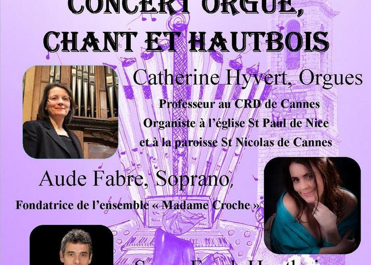 Récital Orgues, Chant et Hautbois à Nice