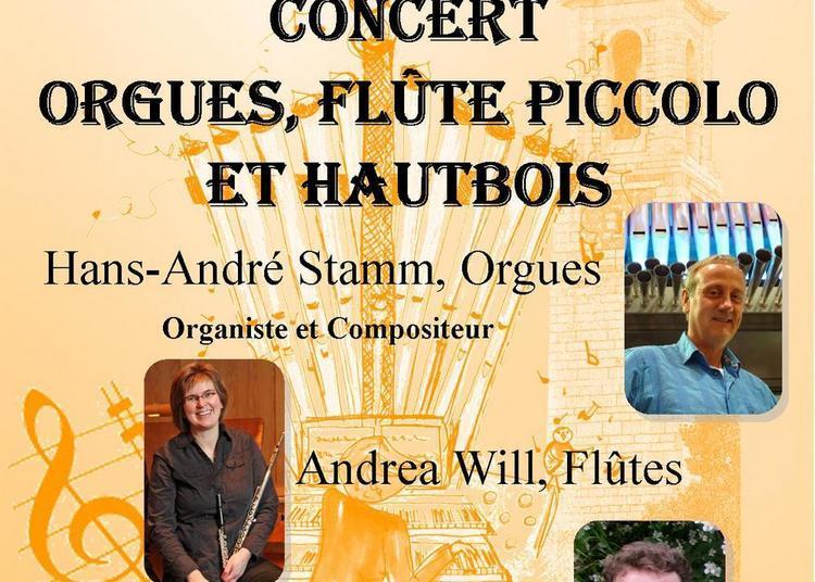 Récital Orgues, Piccolo et Hautbois à Nice