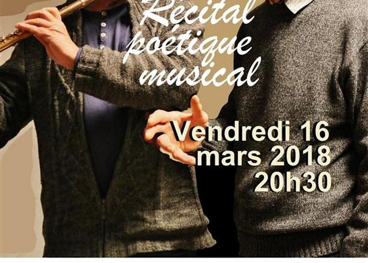 Récital Poétique Musical à Aix en Provence