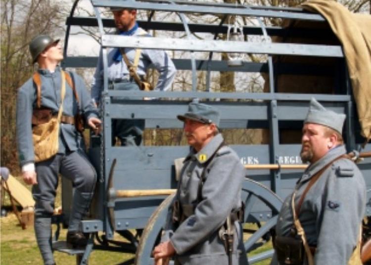 Reconstitution d'un camp militaire à Witry les Reims