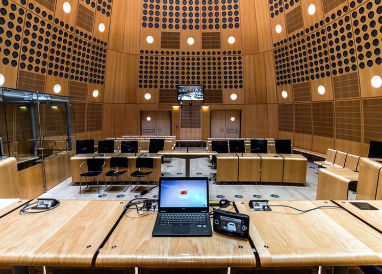 Reconstitutions D'audiences Au Tribunal De Grande Instance à Bordeaux