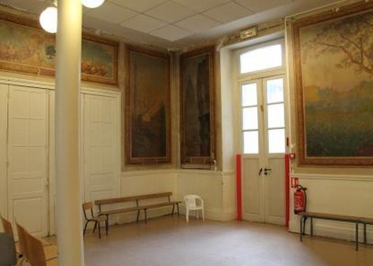 Redécouverte De La Salle Des Fresques à Dreux