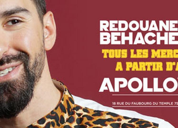 Redouane Behache à Paris 11ème