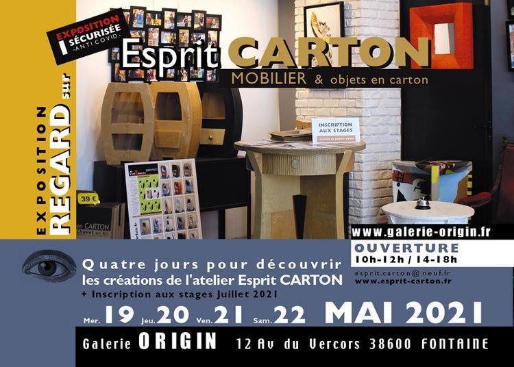 Regard Sur Esprit Carton à Fontaine