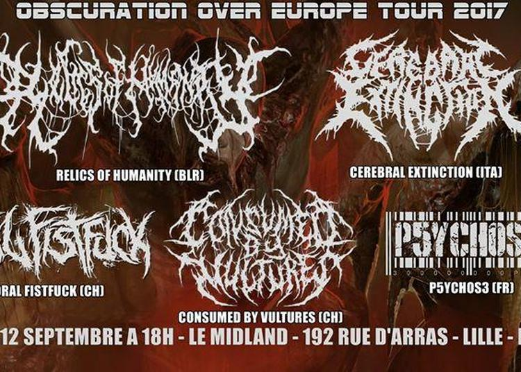 Relics Of Humanity,cerebral Extinction,oral Fistfuck,consumed By à Lille