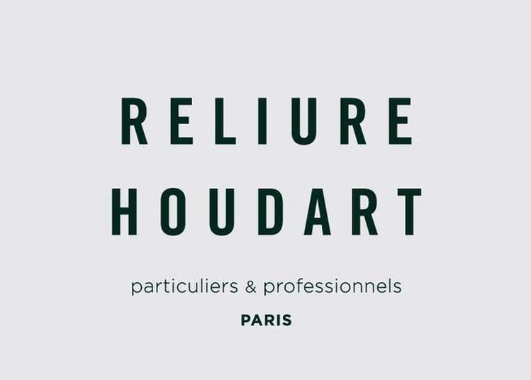 Reliure Houdart : Atelier Vivant à Paris 13ème