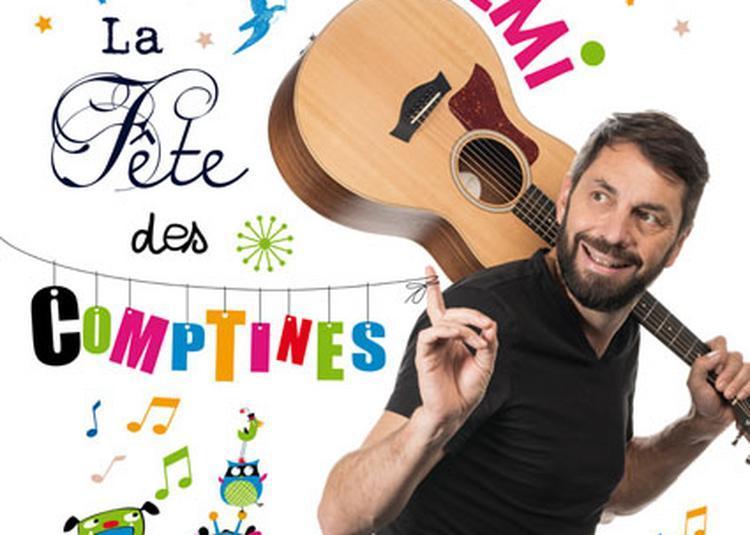 REMI chante La Fête des Comptines à Annecy