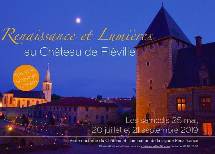 Renaissance Et Lumières Au Château De Fléville à Fleville Devant Nancy