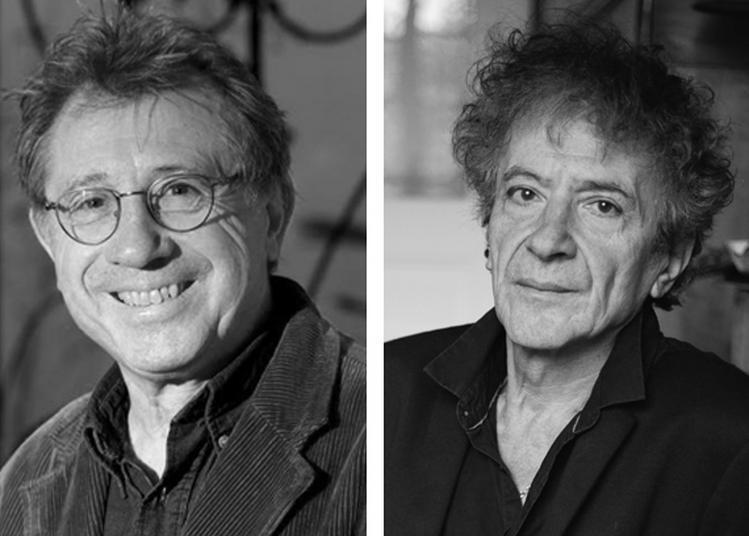 Rencontre avec Denis Grozdanovitch et Hubert Haddad à Huelgoat