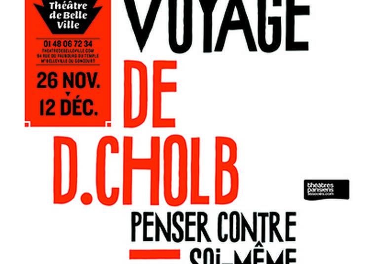 Rencontre avec le metteur en scène Bernard Bloch à Paris 10ème