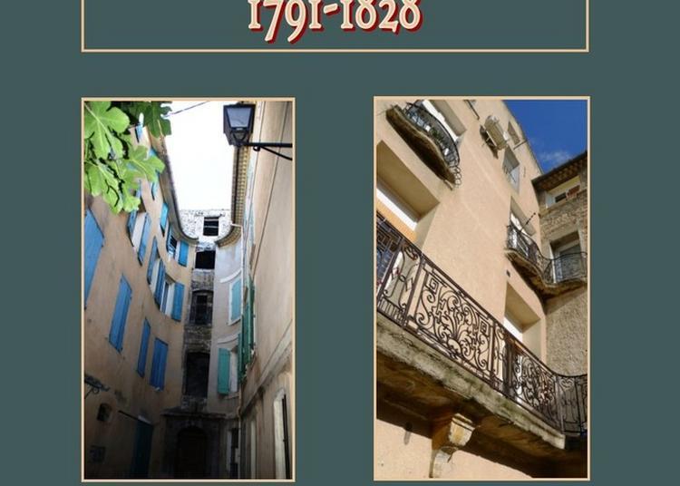 Rencontre Et Dédicace Avec Roselyne Anziani, Auteure De L'ouvrage La Juiverie De L'isle, 1791-1828 à L'Isle sur la Sorgue