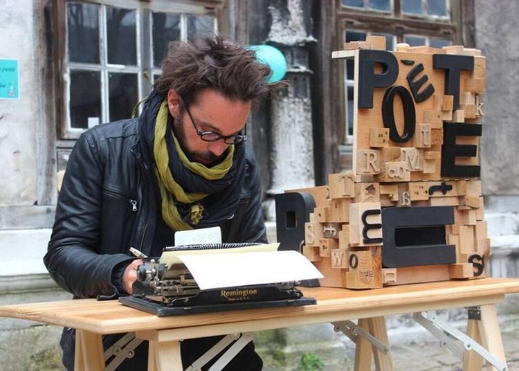 Rencontre - Spectacle : « S'il Te Plait Dessine Moi Un Poème  S'il Te Plait Chante Moi Une Peinture... » - Ben Herbert Larue, Poète De Rue à Rouen