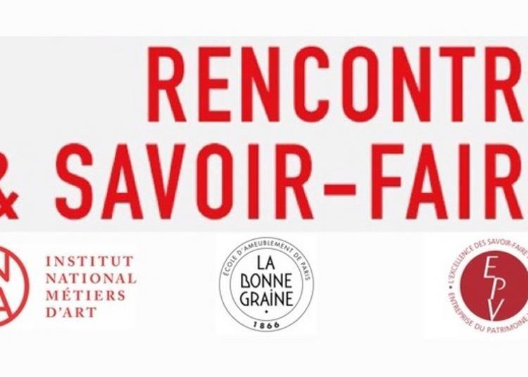 Rencontres - Démonstrations : Venez Rencontrer Les Formateurs Du Cfa La Bonne Graine à Paris 12ème