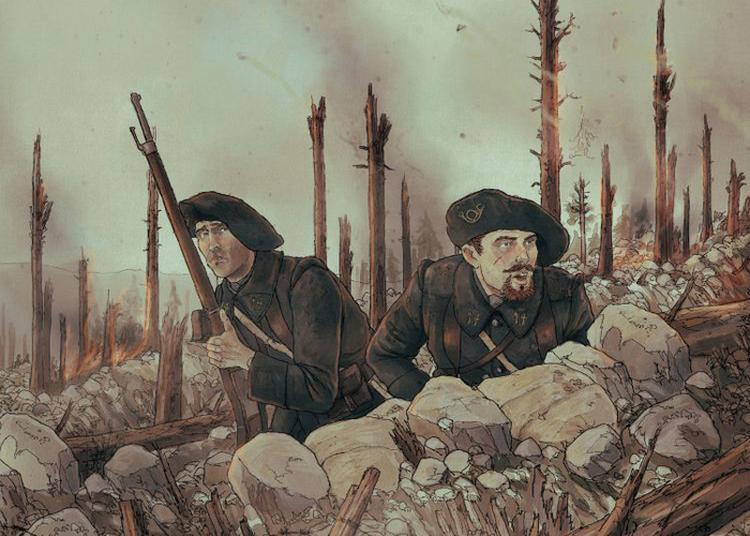 Rencontres Des Auteurs Et Illustrateurs De Bandes Dessinées En Lien Avec La Grande Guerre à Wattwiller