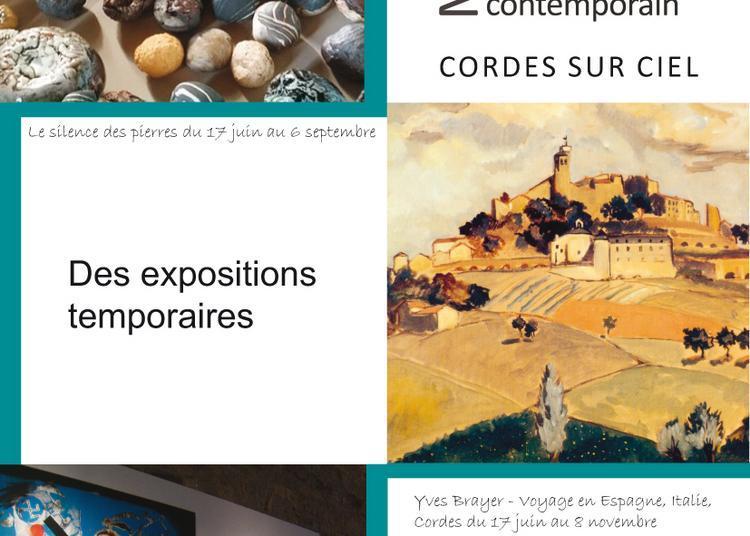 Réouverture du MAMC-Musée d'art moderne et contemporain de Cordes sur Ciel