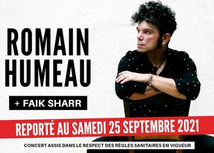 Reporté - Romain Humeau et Faik Sharr - Salle Paul Garcin à Lyon