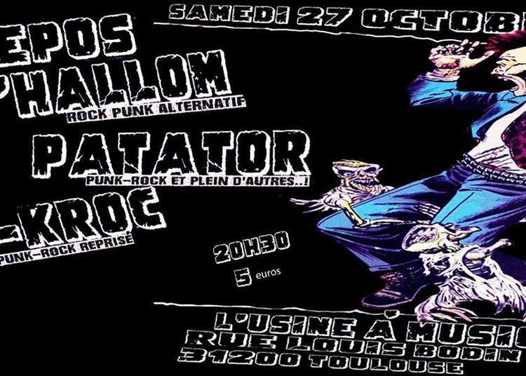 Repos d'Hallom, Patator et S-KROc à Toulouse