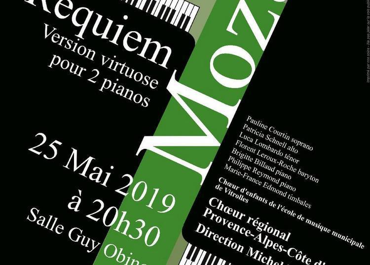 Requiem de Mozart à Vitrolles