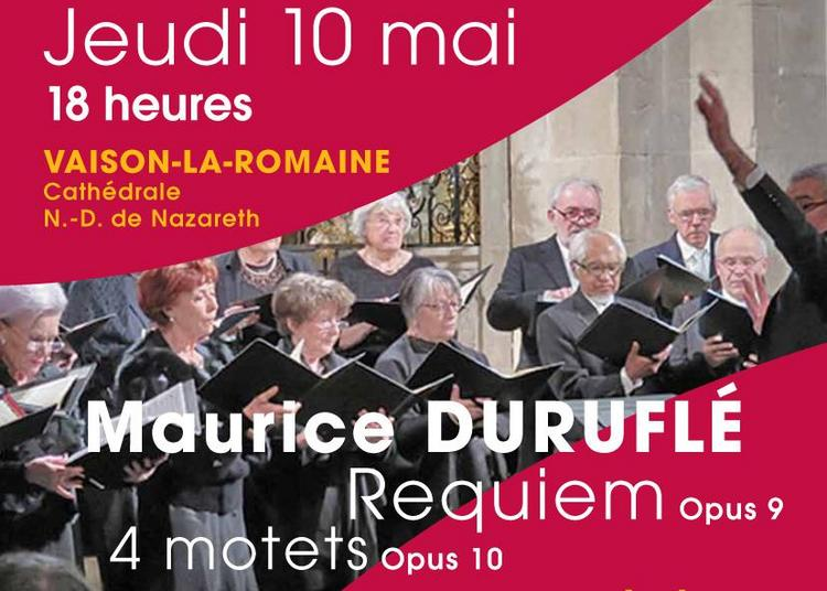 Requiem, Opus 9 de Maurice Duruflé à Vaison la Romaine