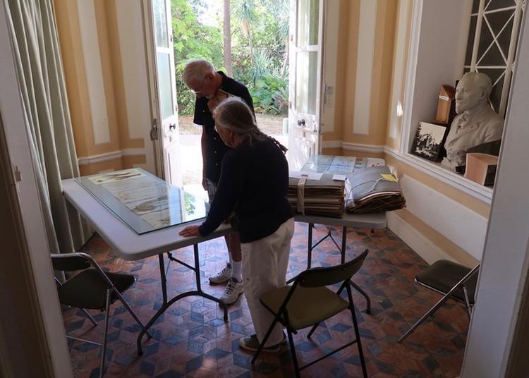 Restauration De L'herbier Historique De Monsieur Thuret à Antibes