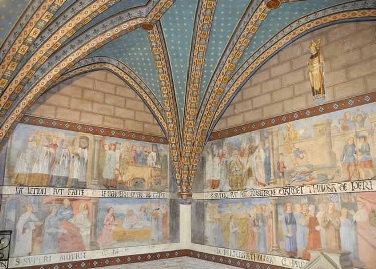 Restauration Des Peintures Murales Du Xvie Siècle à Blagnac