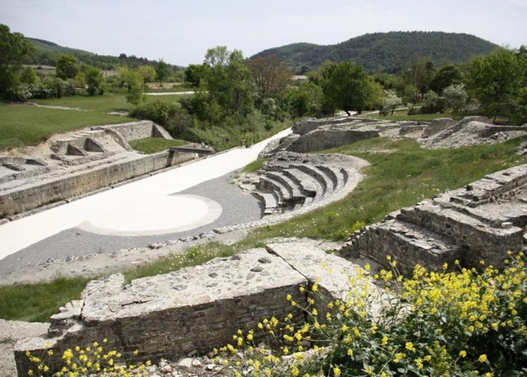 Restauration Du Théâtre Antique D'alba-la-romaine à Alba la Romaine