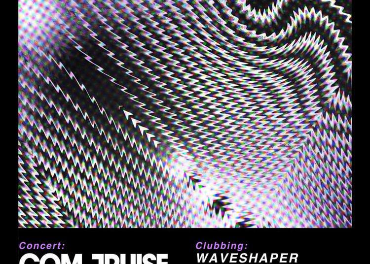 Retro Synth Fury 11 : Com Truise + Waveshaper + Robert Parker à Paris 13ème