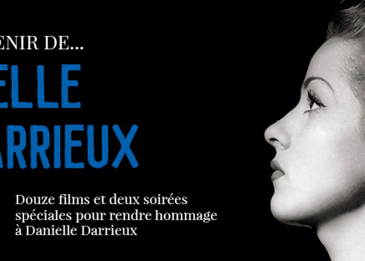 Rétrospective Danielle Darrieux à Lyon