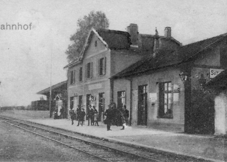 Rétrospective : « Voie Ferrée Du Florival » à Soultz Haut Rhin