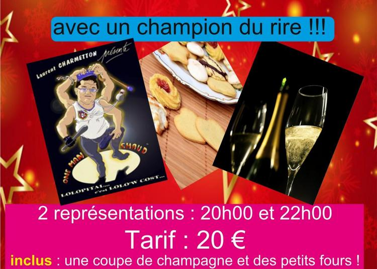 Reveillon  du 31 DÉCEMBRE  au brankignols  rire et champagne à Saint Etienne