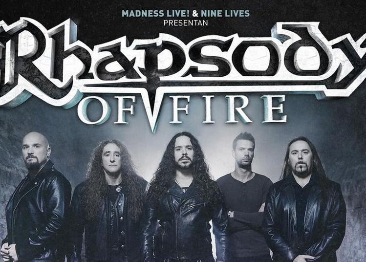 Rhapsody Of Fire à Paris 13ème
