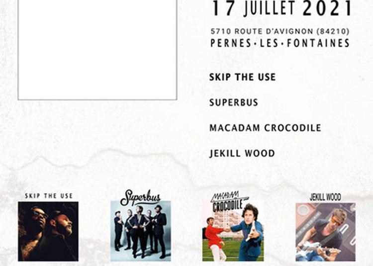Rhinoferock Festival 2021 Samedi à Pernes les Fontaines