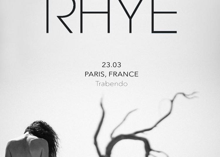 Rhye à Paris 19ème