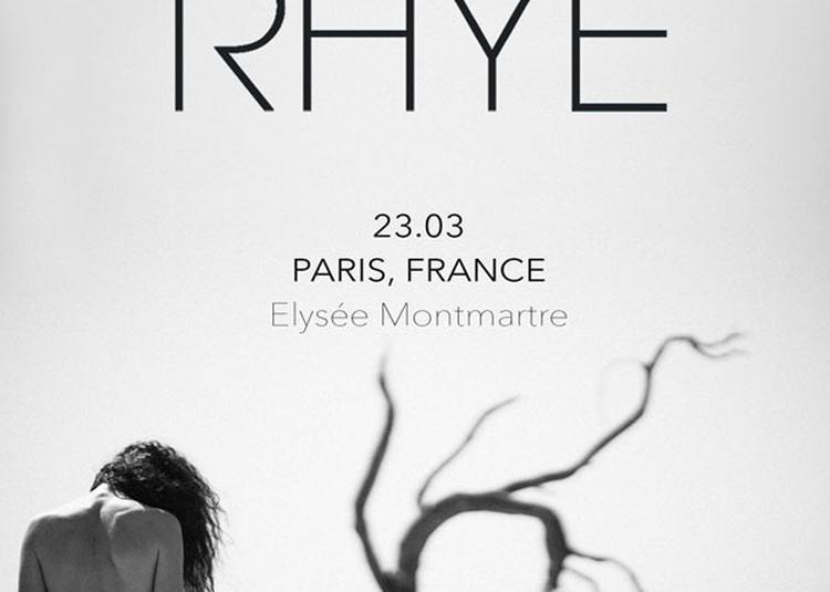 Rhye à Paris 18ème