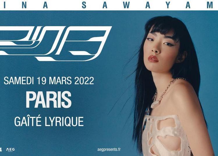 Rina Sawayama à Paris 3ème