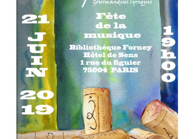 Ripailles, Gourmandises Lyriques à Paris 4ème