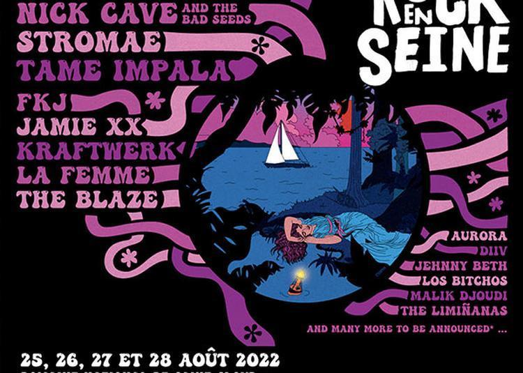 Rock en Seine 2022 Billet Dimanche à Saint Cloud